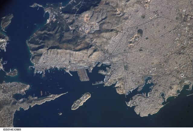 PIRAEUS FROM SPACE 2