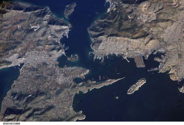PIRAEUS FROM SPACE 3