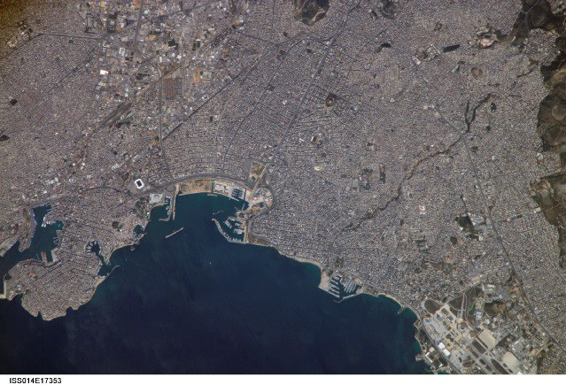 PIRAEUS FROM SPACE 4
