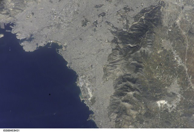 PIRAEUS FROM SPACE 6