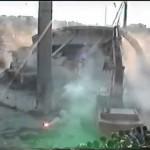 demolishing gate 7