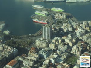 PIRAEUS FROM HIGH ABOVE